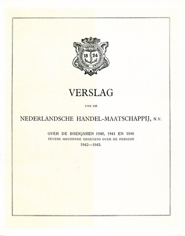 Nederlandsche Handel-Maatschappij 1940