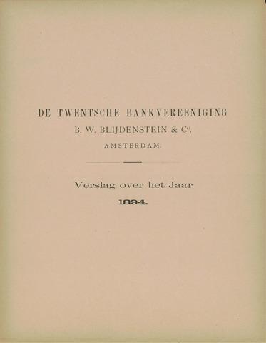 Twentsche Bank 1894