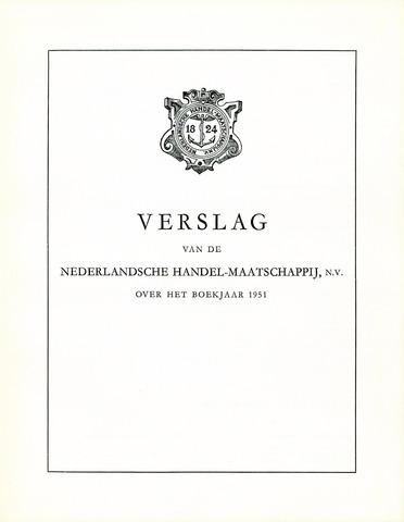 Nederlandsche Handel-Maatschappij 1951