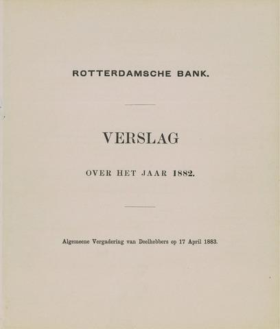 Rotterdamsche Bank 1882