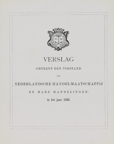 Nederlandsche Handel-Maatschappij 1885