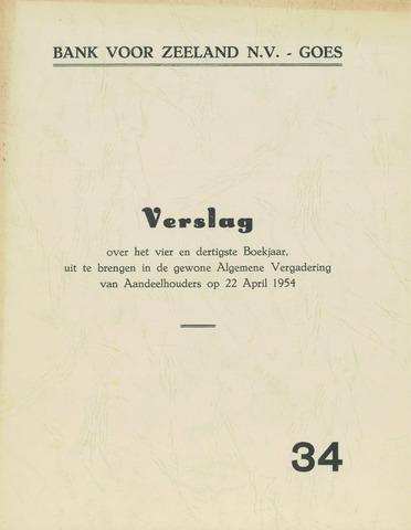 Bank voor Zeeland 1953