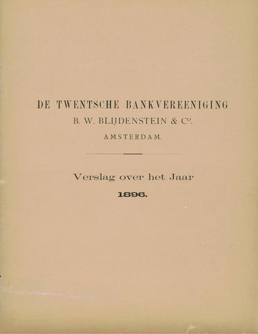 Twentsche Bank 1896