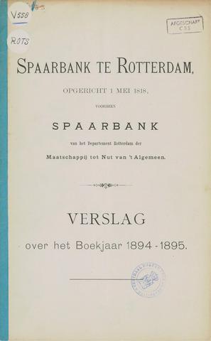 Spaarbank te Rotterdam 1894