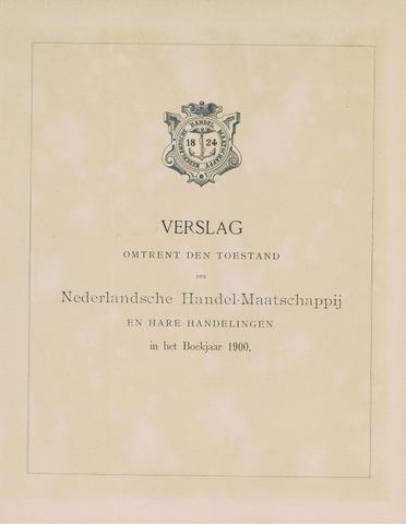 Nederlandsche Handel-Maatschappij 1900