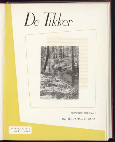 Rotterdamsche Bank - De Tikker 1962