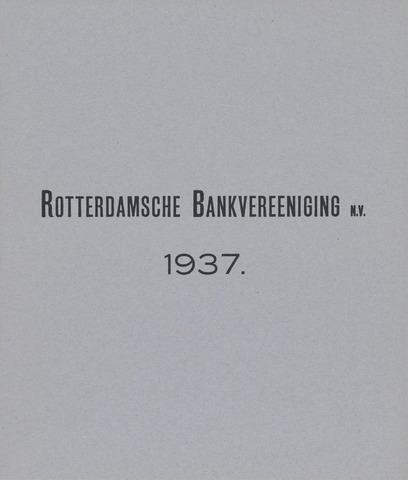 Rotterdamsche Bank 1937