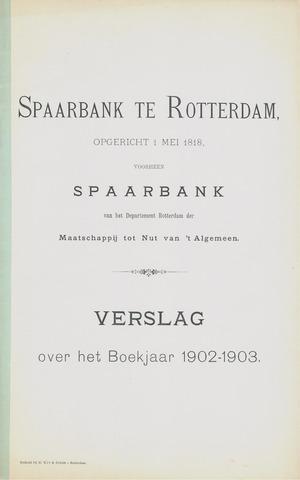 Spaarbank te Rotterdam 1902