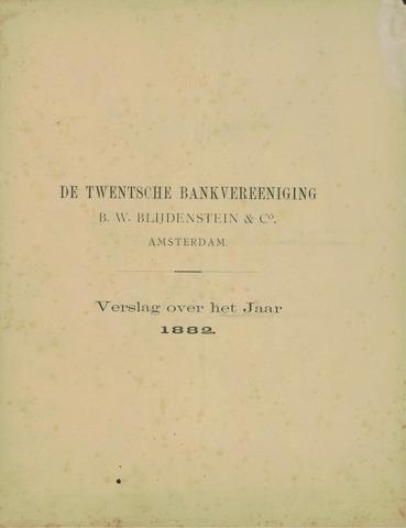 Twentsche Bank 1882