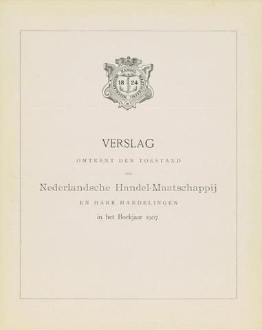 Nederlandsche Handel-Maatschappij 1907
