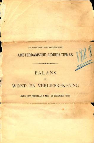 Amsterdamsche Liquidatiekas - Amsterdamsche Goederenbank 1888-01-01