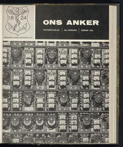 Nederlandsche Handel-Maatschappij - Ons Anker 1963