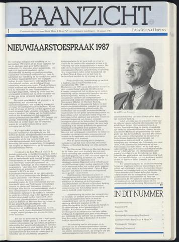 Bank Mees & Hope - Baanzicht 1987