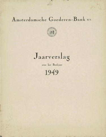 Amsterdamsche Liquidatiekas - Amsterdamsche Goederenbank 1949