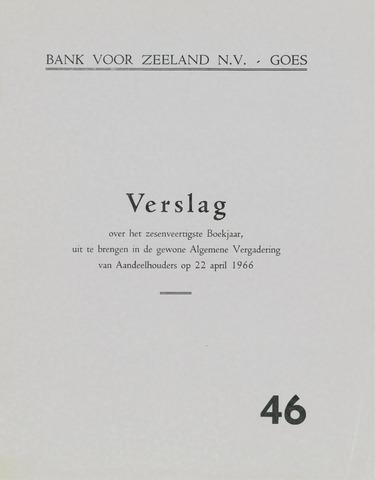 Bank voor Zeeland 1965
