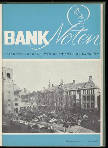 De Twentsche Bank - Banknoten 1964