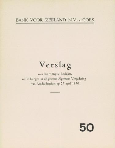 Bank voor Zeeland 1969