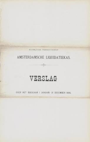 Amsterdamsche Liquidatiekas - Amsterdamsche Goederenbank 1896