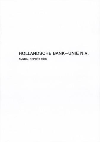 Hollandsche Bank-Unie 1993