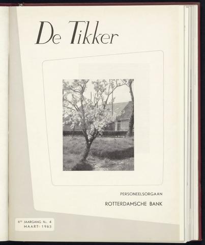 Rotterdamsche Bank - De Tikker 1963