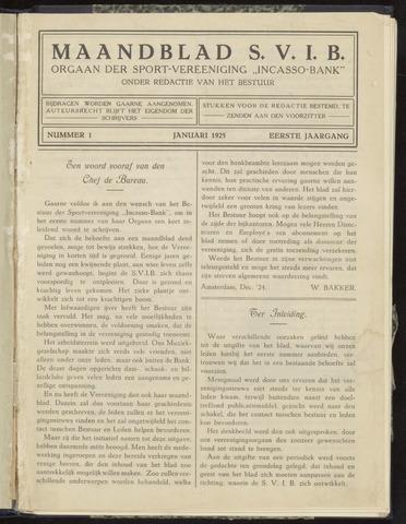 Incasso-Bank - Maandblad SVIB 1925