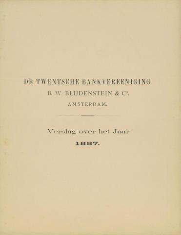 Twentsche Bank 1887