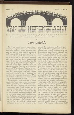 Amsterdamsche Bank - Van de Herengracht 1948
