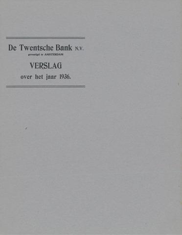 Twentsche Bank 1936
