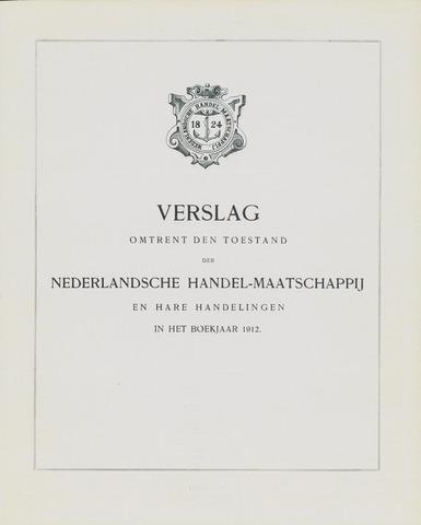 Nederlandsche Handel-Maatschappij 1912