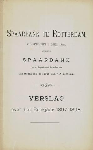 Spaarbank te Rotterdam 1897