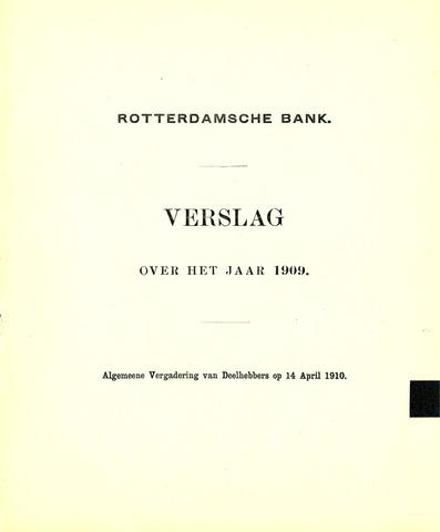 Rotterdamsche Bank 1909