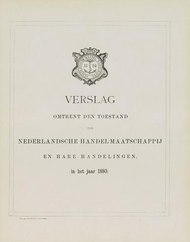 Nederlandsche Handel-Maatschappij 1880