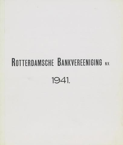 Rotterdamsche Bank 1941