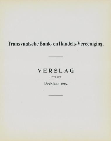 Transvaalsche Bank- en Handelsvereeniging 1915