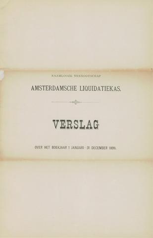 Amsterdamsche Liquidatiekas - Amsterdamsche Goederenbank 1899-01-01