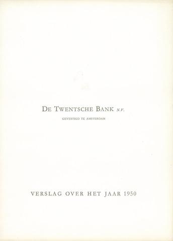 Twentsche Bank 1950