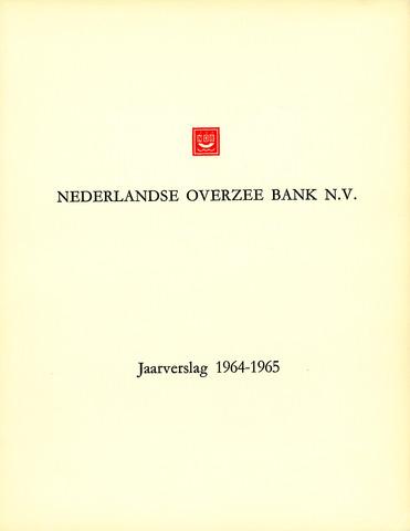 Nederlandse Overzee Bank 1964-01-01