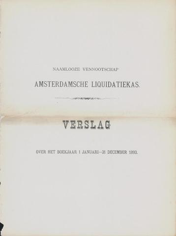 Amsterdamsche Liquidatiekas - Amsterdamsche Goederenbank 1893-01-01