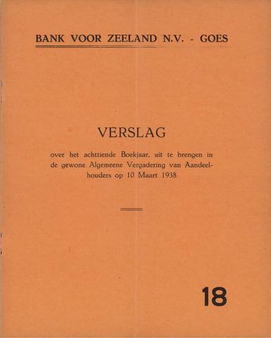 Bank voor Zeeland 1937