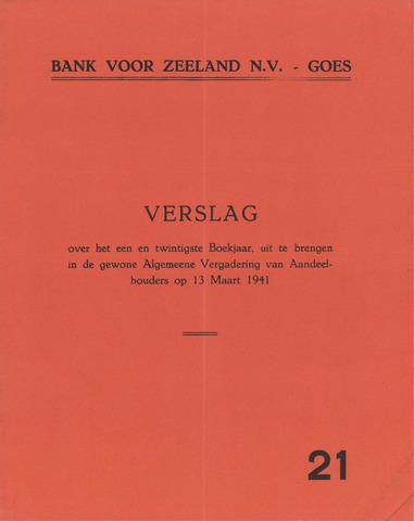 Bank voor Zeeland 1940