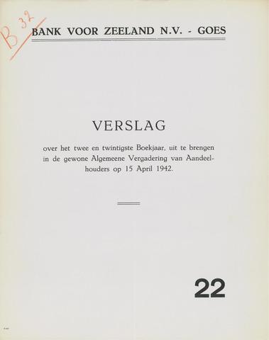 Bank voor Zeeland 1941