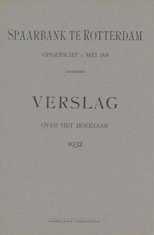Spaarbank te Rotterdam 1932