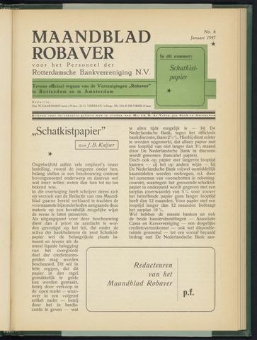 Rotterdamsche Bank - Robaver 1947