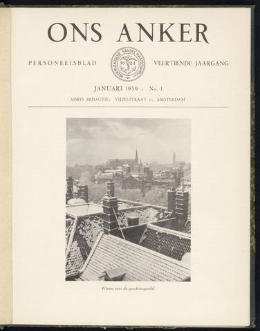 Nederlandsche Handel-Maatschappij - Ons Anker 1959