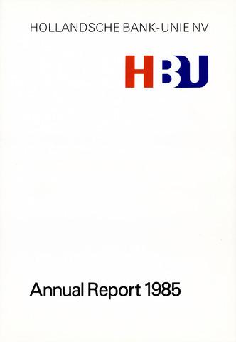 Hollandsche Bank-Unie 1985