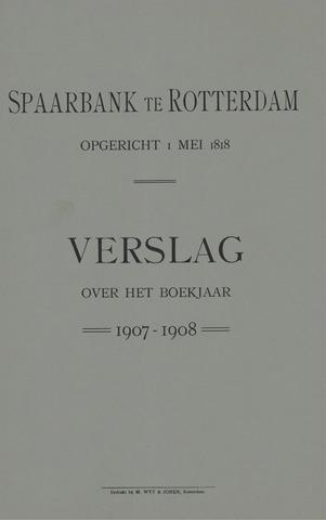 Spaarbank te Rotterdam 1907