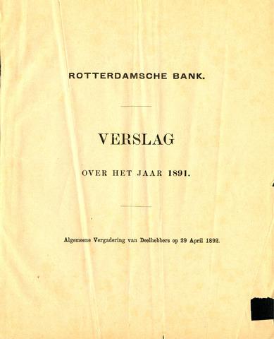 Rotterdamsche Bank 1891