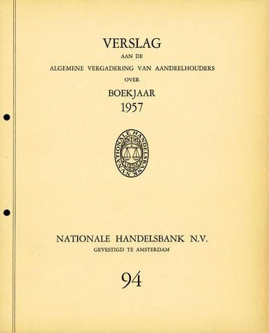 Nationale Handelsbank 1957