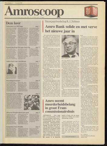 Amro Bank - Amroscoop 1988