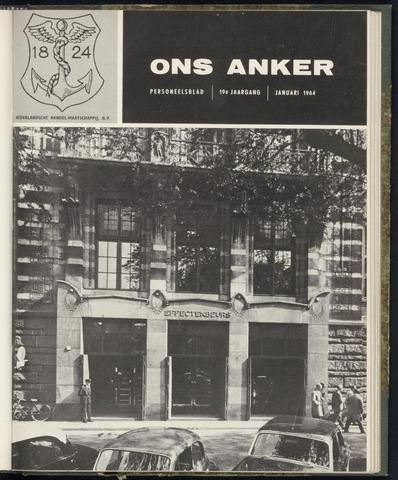 Nederlandsche Handel-Maatschappij - Ons Anker 1964